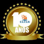 Logo Comemorativa em Homenagem Aos 10 Anos da Citis